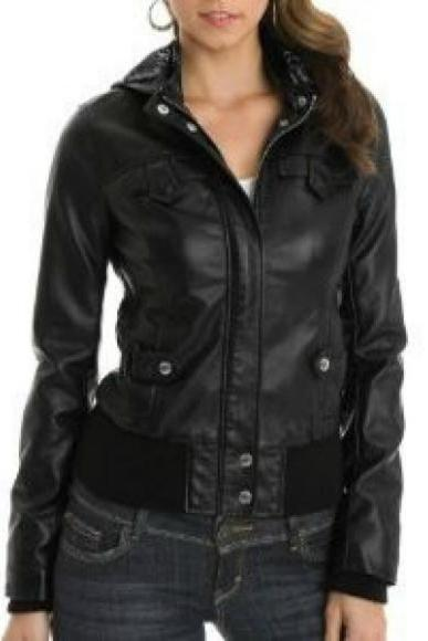 Leather Skin Women Black High Quality Premium Leather Jacket